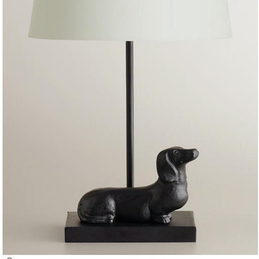 Dachshund Accent Lamp