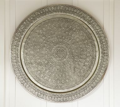 Decorative Metal Disc at  Pottery Barn