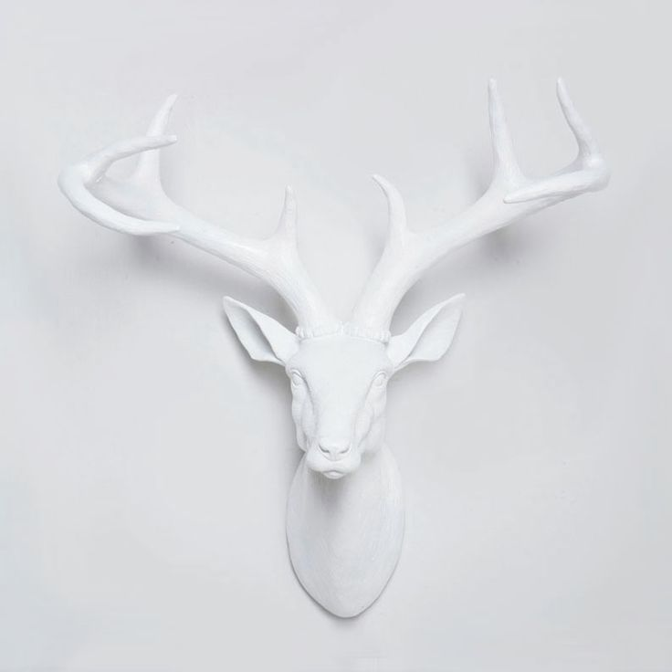 Cast Resin Deer Mount at  Dot & Bo