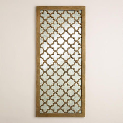 Quatrefoil Nala Wall Panel at  World Market