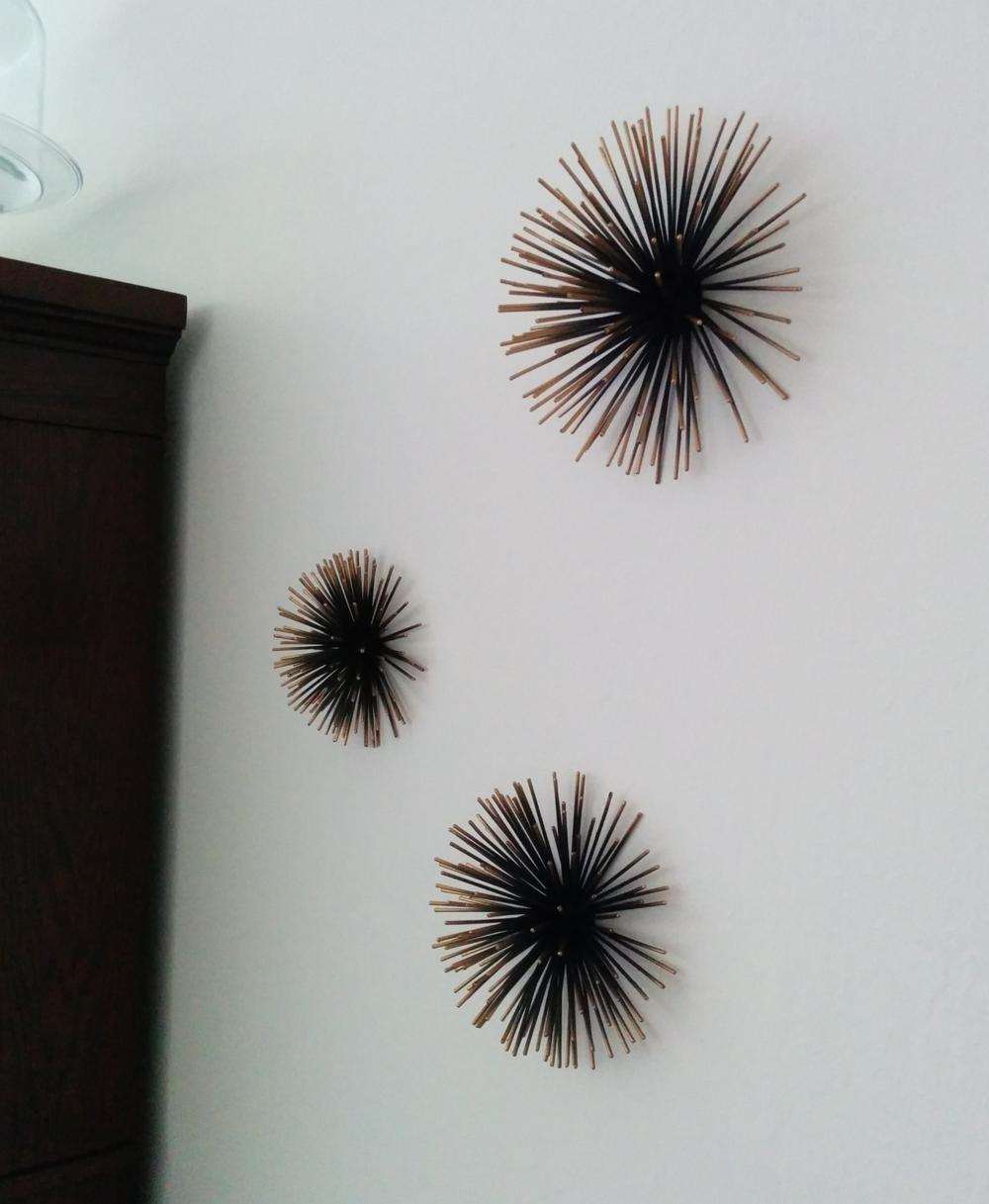 Metal Urchin Wall Decor : Let the walls do talking sofia s sabbatical