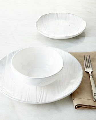 Wood-grain Design  Dinnerwear