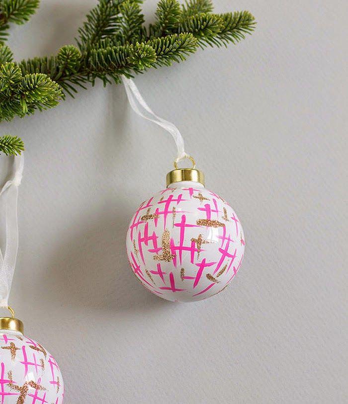 Brushstroke Ornament by  Vitamini Handmade