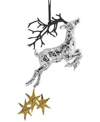Michael Aram Reindeer Ornament at  Macy's