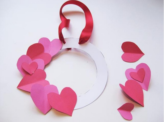 Heart Wreath at  About Parenting