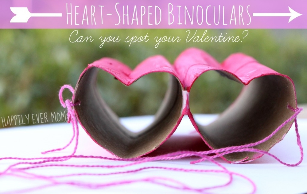 Heart-Shaped Binoculars at  Happily Ever Mom