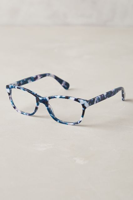 Marbled reading glasses at  Anthropologie