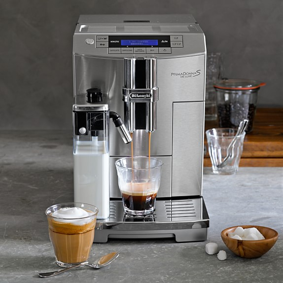 DeLonghi PrimaDonna S Super Automatic Espresso Maker,  source
