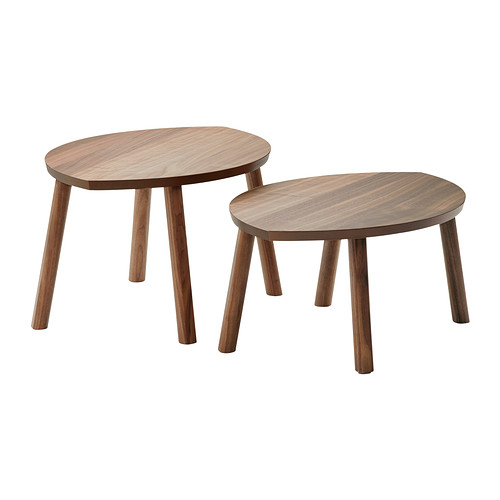 Ikea's  Stockholm Nesting Tables