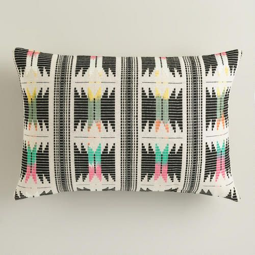 World Market's  Striped Boulevard  pillow