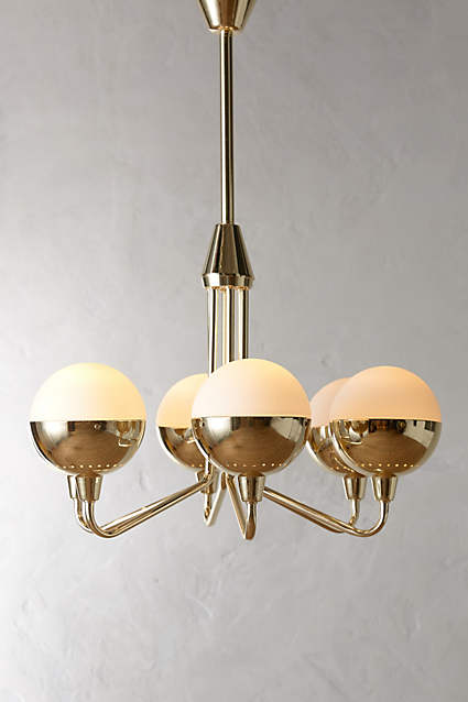 Anchored Orb Chandelier  - adore!