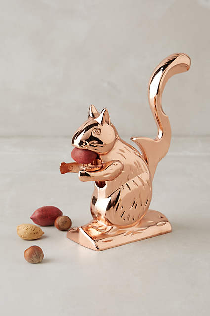 Squirrel Nut Cracker  - this is JUST like the one my mom had when I was growing up, but with a fresh copper color. I may have to actually get this one.