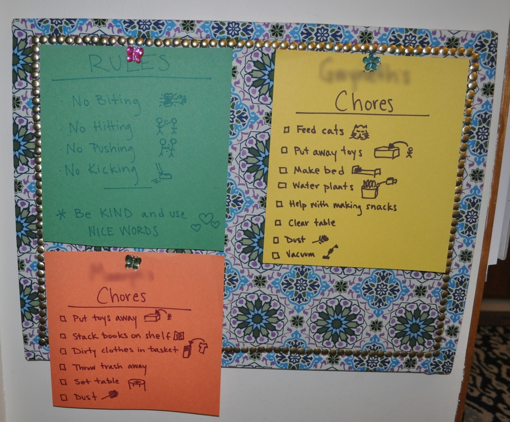 Rule and Chore Charts