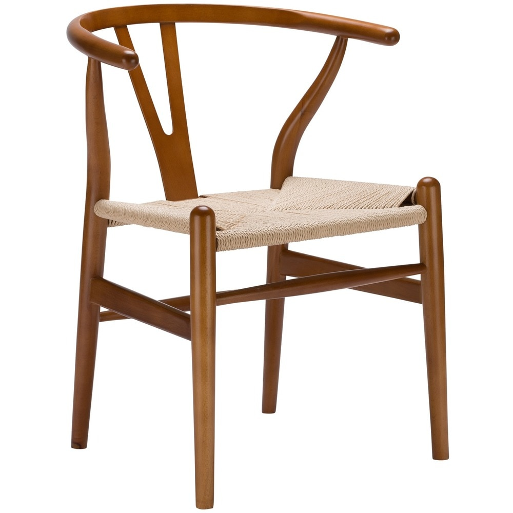 Wishbone style chair,  source