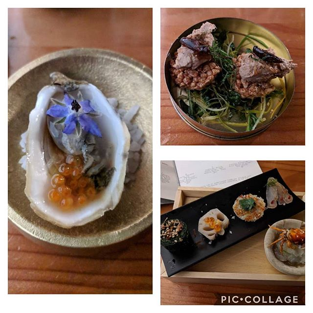 Belated birthday dinner with my love. Apparently birthdays are reserved for the BEST meals of your life 💖 #otoko #austin #sushi #bestmeal #icanneverhaveregularsushiagain