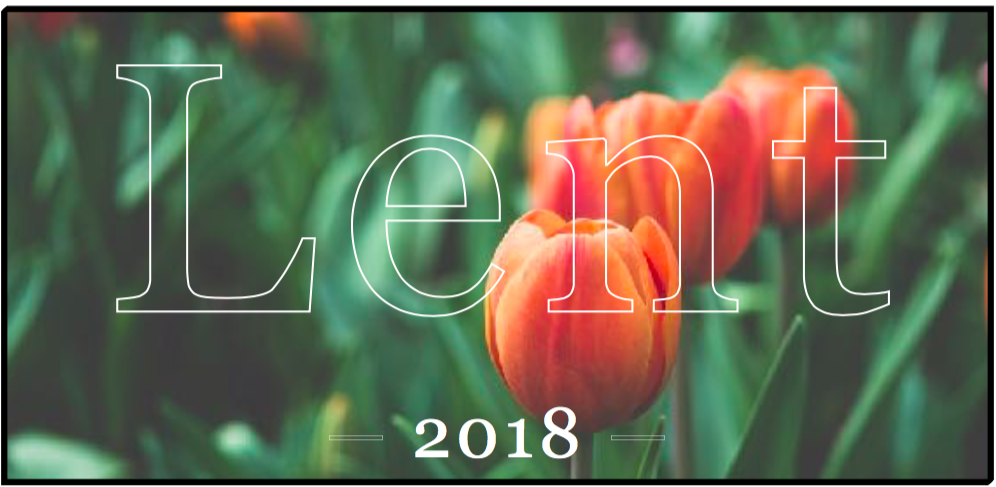 Lent begins March 1, 2017 this year! Click  here  to access the Lent devotional booklet put together by our team. Take this resource and share it with your family, friends, or community group as we await Easter.