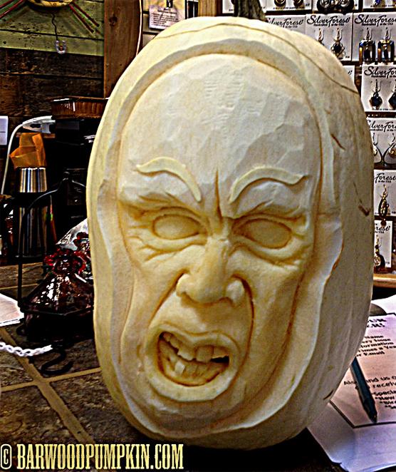 Anguished White Pumpkin
