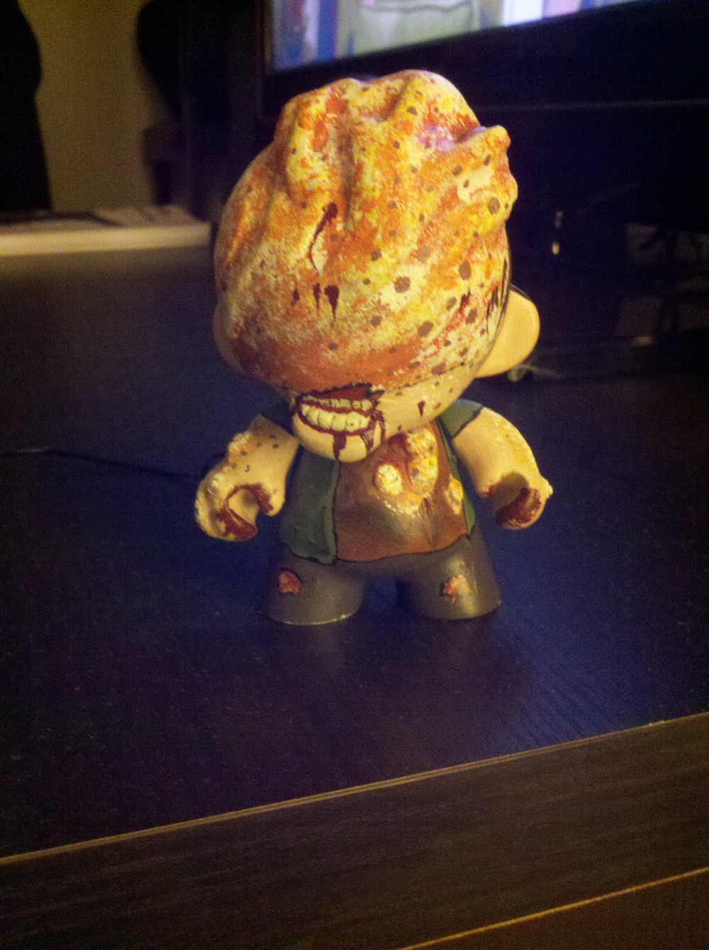 Infected munny custon