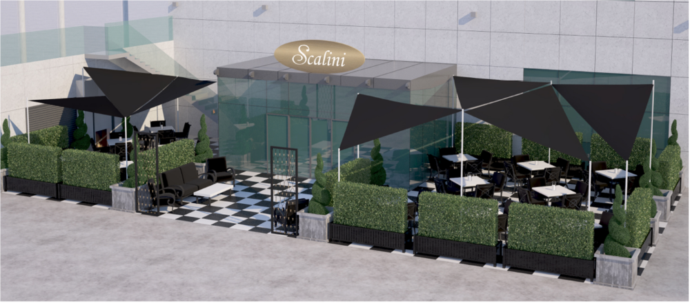 Cafe Scalini - Dubai