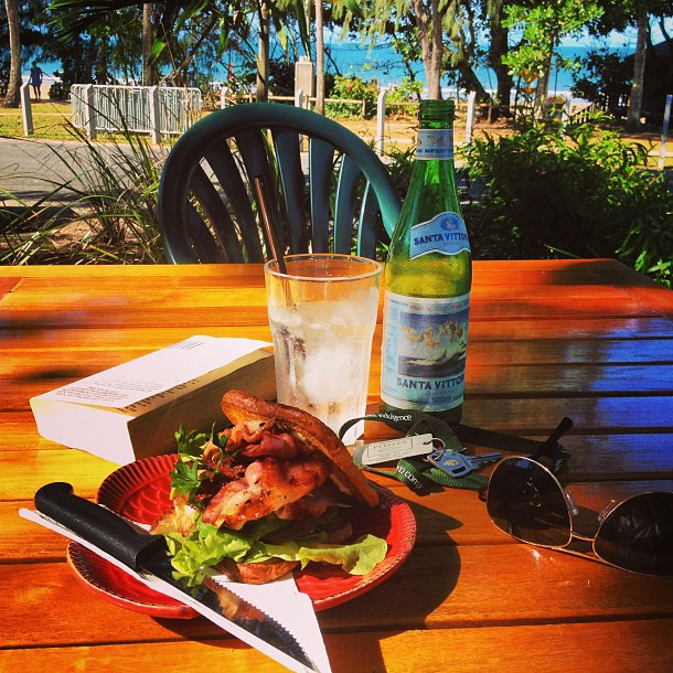 Gluten free BLT at Beach Cafe