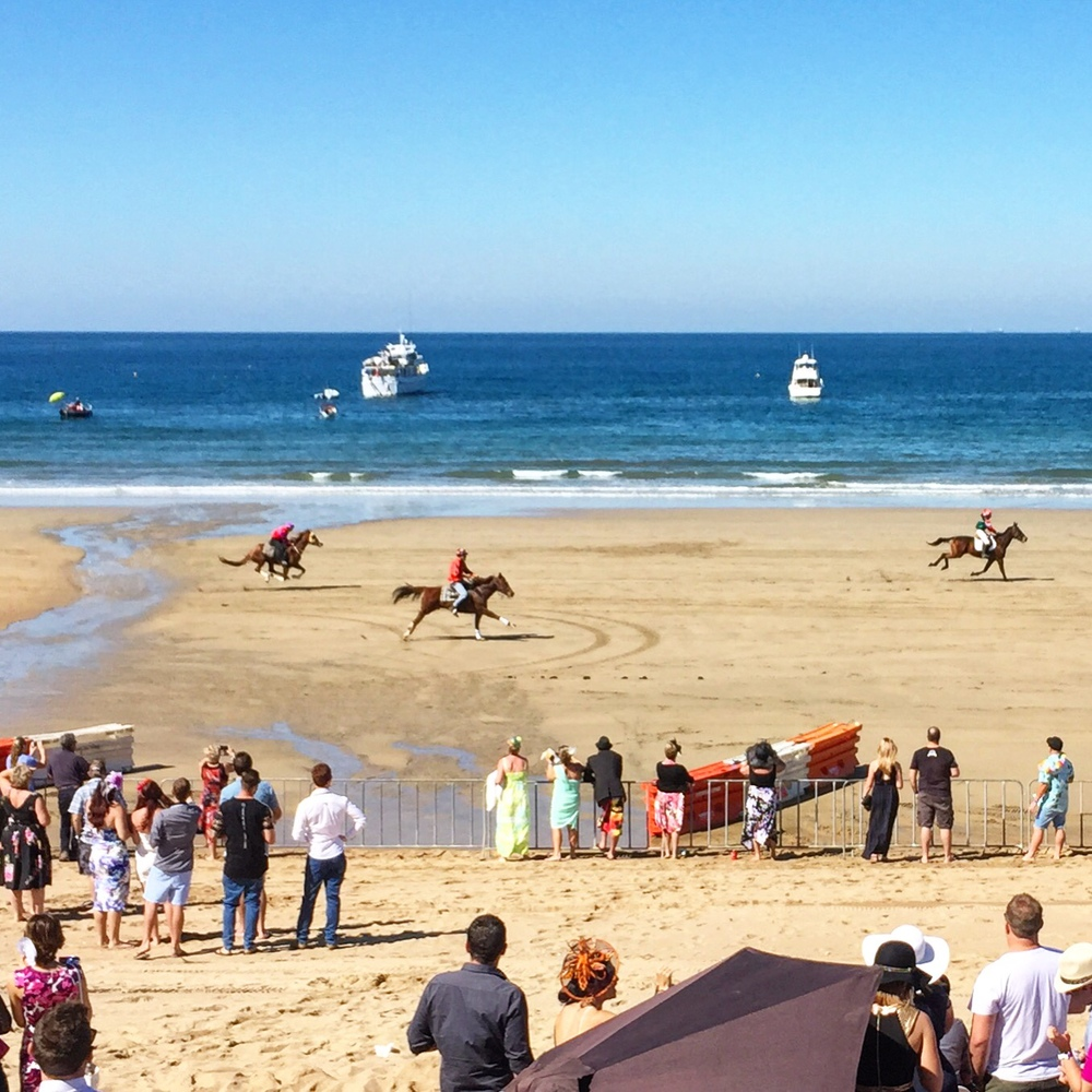Head to the Mackay Airport Beach Horse Racing Festival next August to be part of the action