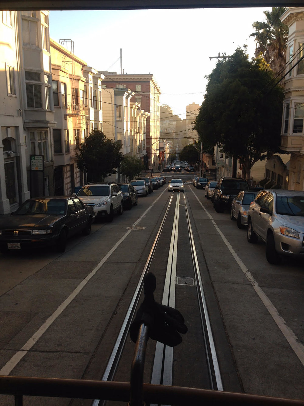 Beat the hills in SF with a cable car