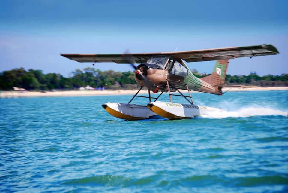 image via Paradise Seaplanes Facebook