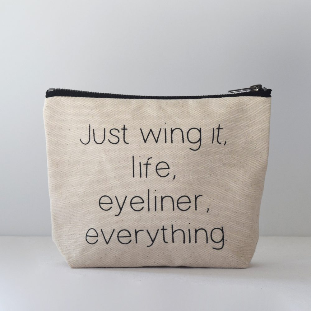Zetta Florence Wing It Zipper Pouch - $14.95