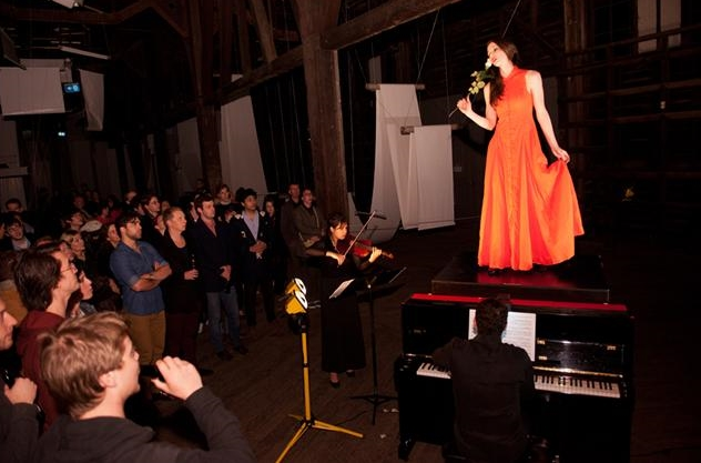 The Biennale of Sydney, 2012 Performing with Sydney Chamber Opera