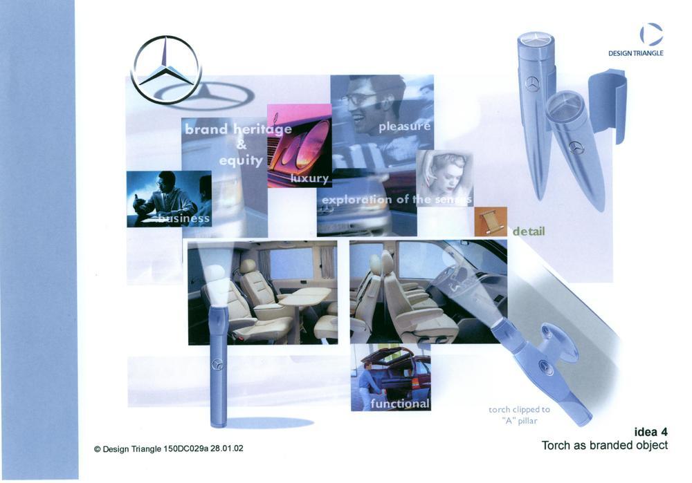 Design Triangle - Research - Mercedes Benz interior