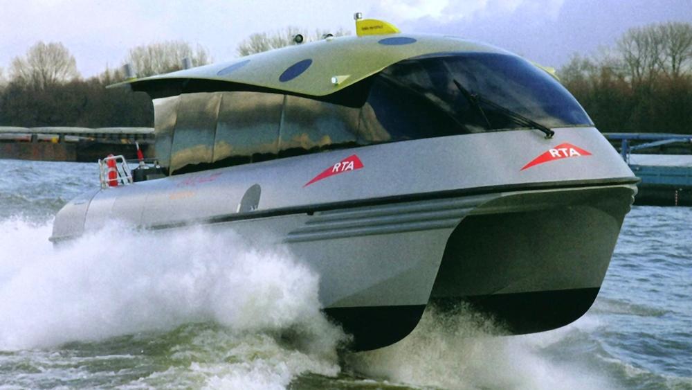Design Triangle - DAMEN Water Taxi design