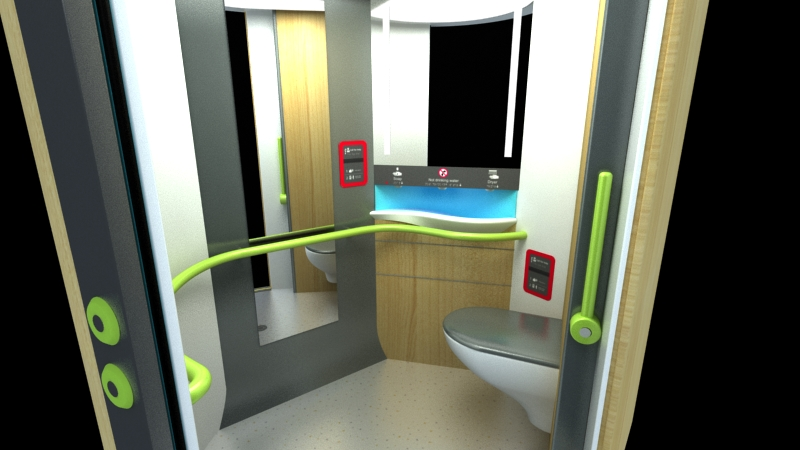 Design Triangle - UAT Universal Access Toilet design
