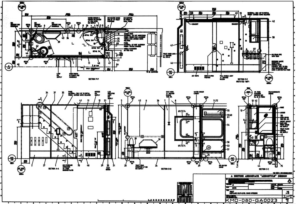 Design Triangle - Development - Maryland double deck CAD drawings
