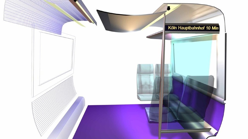 Design Triangle - Train interior panel system design