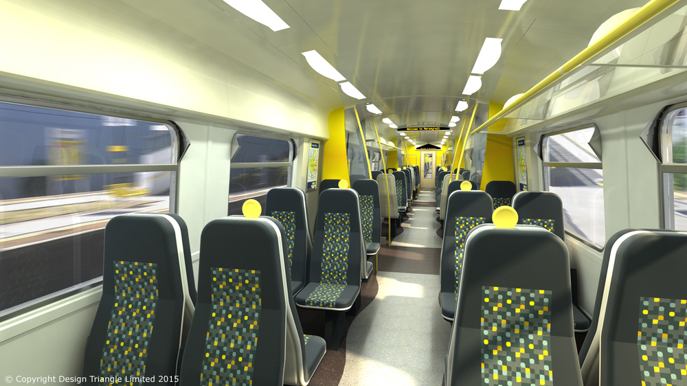 Design Triangle - Merseyrail Class 507 508 Interior Refurbishment