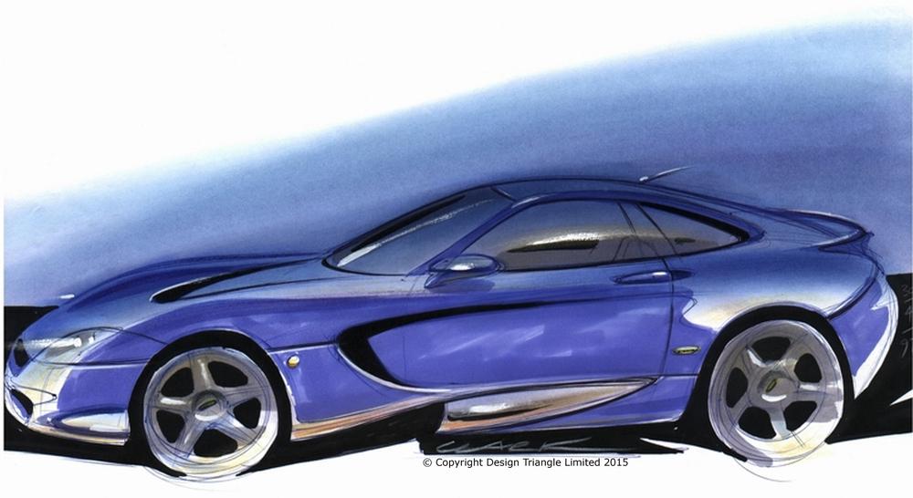 Design Triangle - LOLA Broadley V12 Touring Car design sketch - COPYRIGHT.jpg