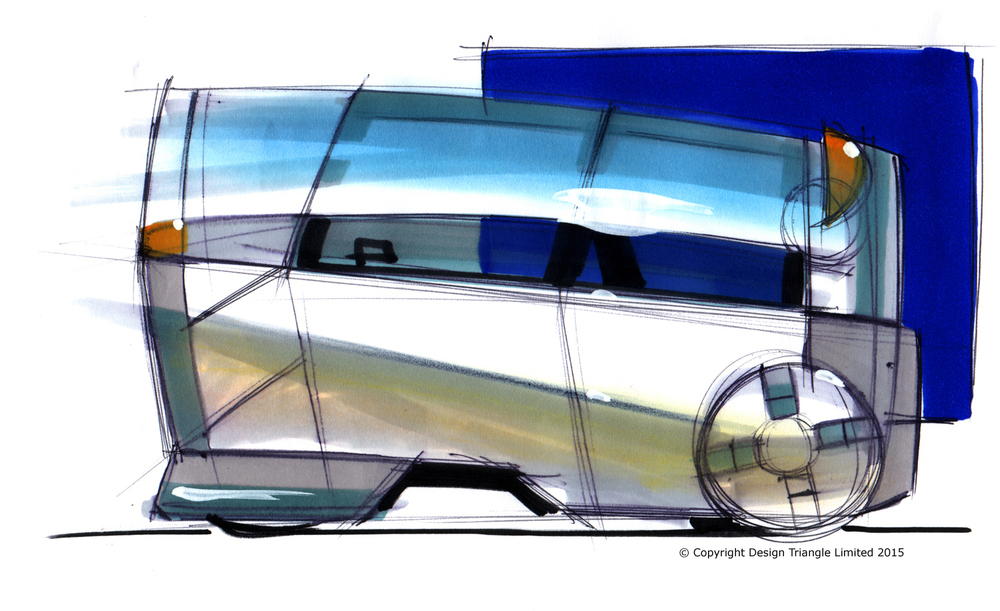 Design Triangle - Microvan exterior styling concept sketch - COPYRIGHT.jpg