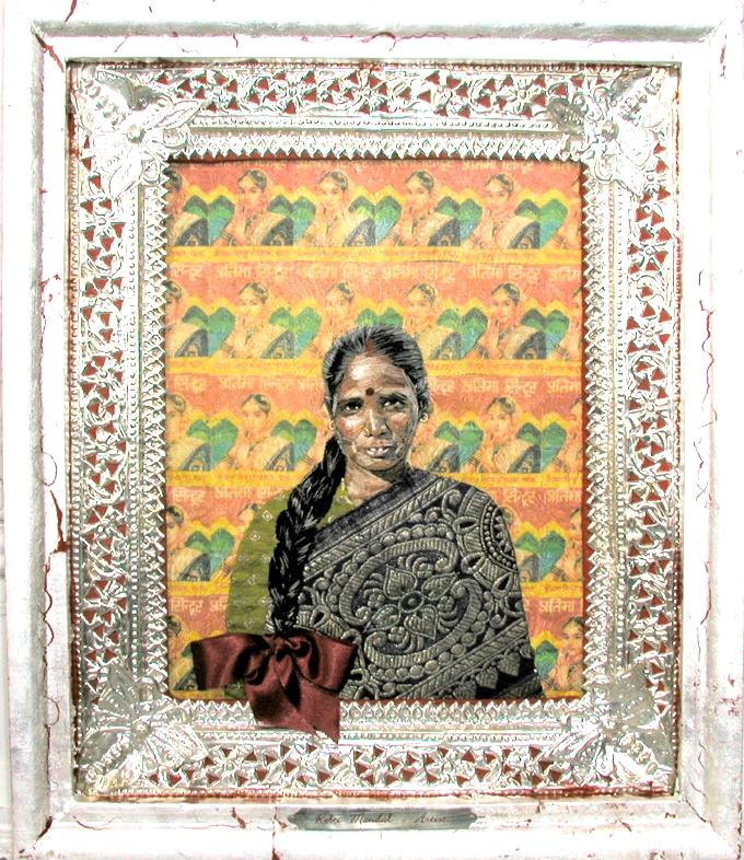 Rebti Mandal, Artist