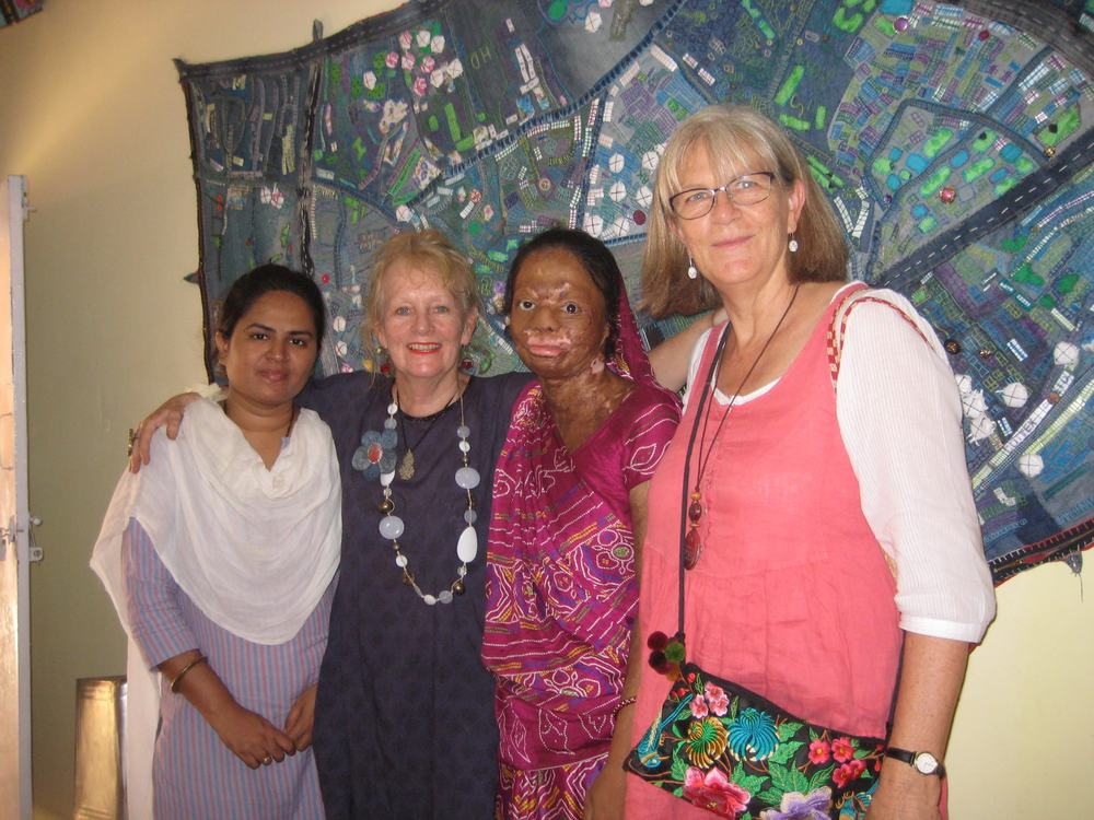 Mehzabeen, who was my amazing assistant, Geeta and Libby
