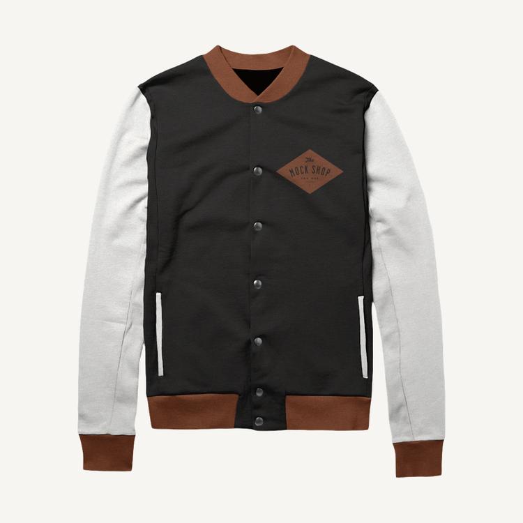 Varsity Jacket Mockup The Mock Shop