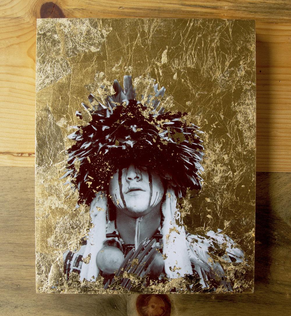 gold leaf photos -