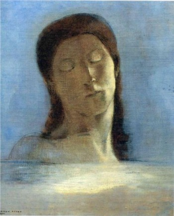 closed eyes, odilon raedon