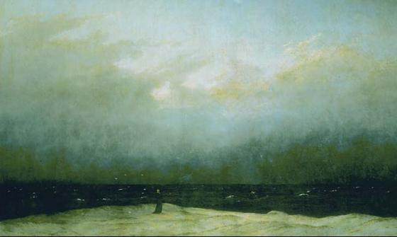 The Monk by the Sea, Caspar David Freidrich