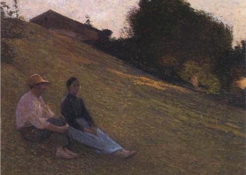 Smaller rest, Henri Martin
