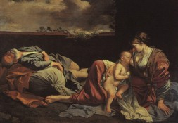rest on the flight to egypt, Orazia Gentlesci