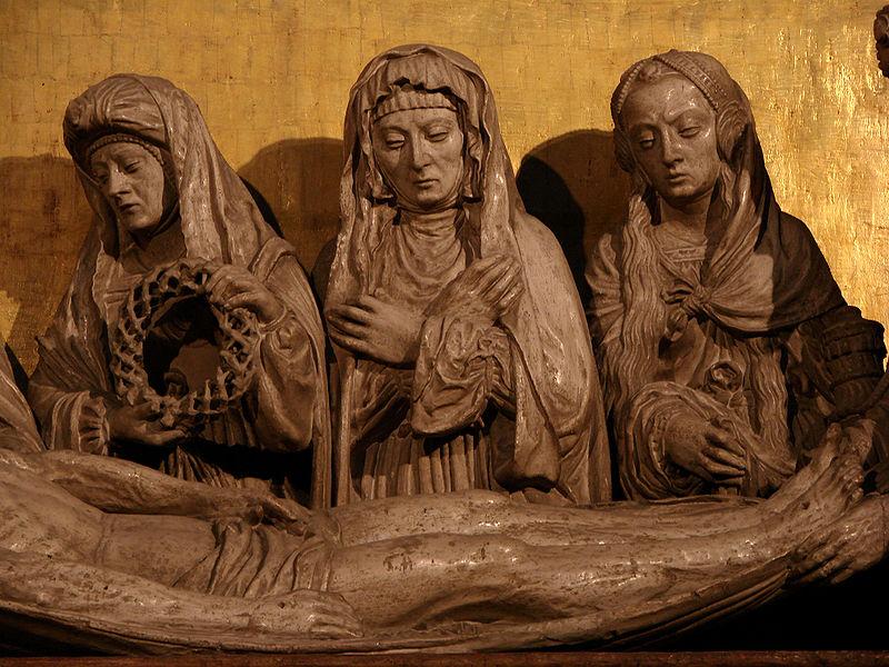 Mise au tombeau Auch 2,wikicommons