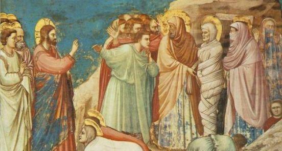 Samuel Barber Picture: Giotto di Bondone, Cappella Scrovegni a Padova, Life of Christ, Raising of Lazarus