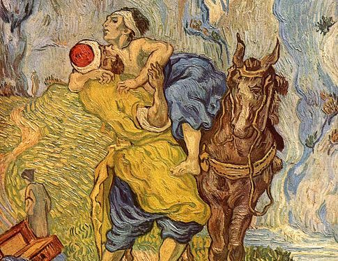 The Good Samaritan Vincent van Gogh