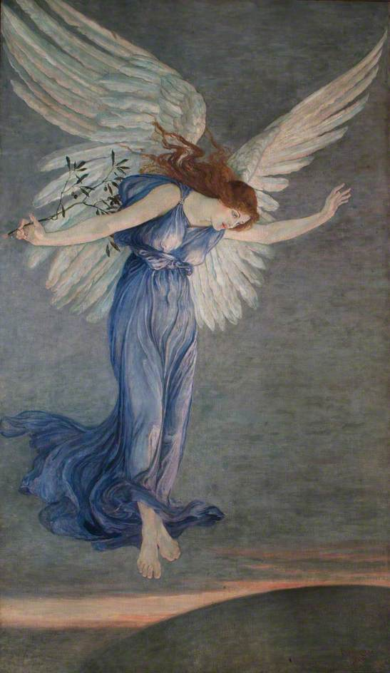 Angel of peace, Walter Crane