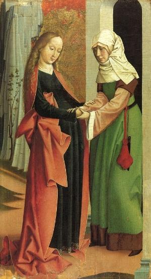 The visitation, Rueland Frueauf the Third